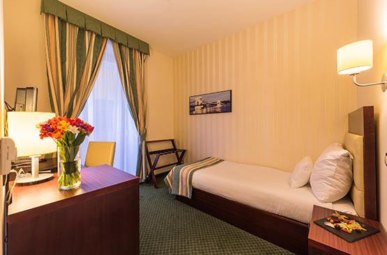 Standard einzelzimmer, Hotel President, Budapest