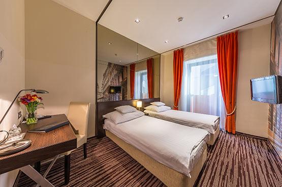 Standard Doppelzimmer, Hotel President, Budapest
