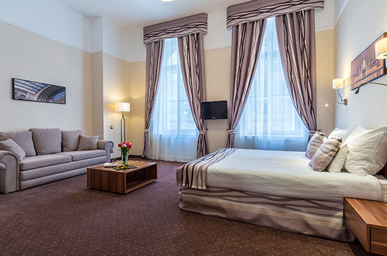 Junior suite, Hotel President, Budapest